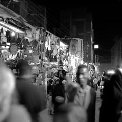 Commercial street, Luxor, Egypt.