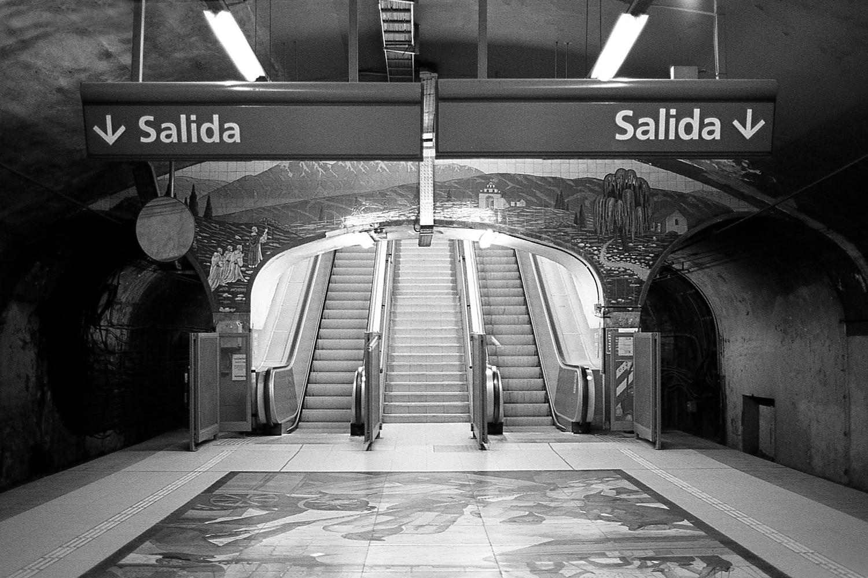 """Plaza Italia"" station, ""D"" line."