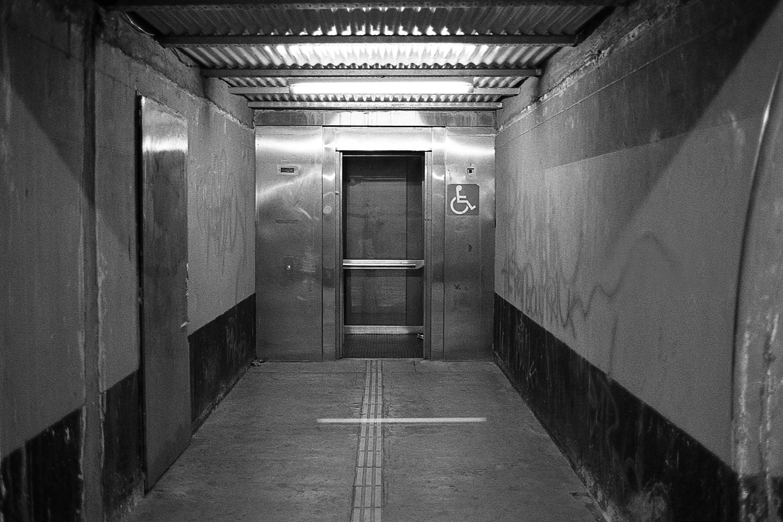 Handicap elevator.