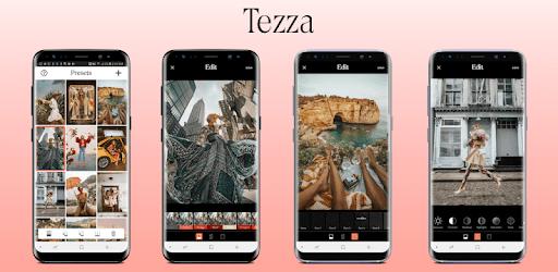 Tezza app es una aplicación buenísima creada por instagramers para instagramers.