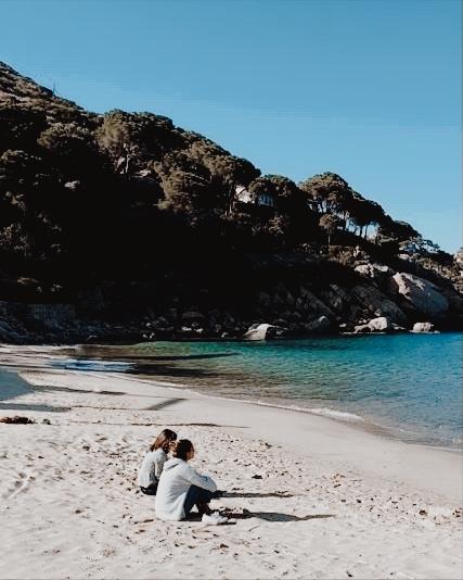 Playa en la Isola del Giglio