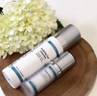 Acne skin routine
