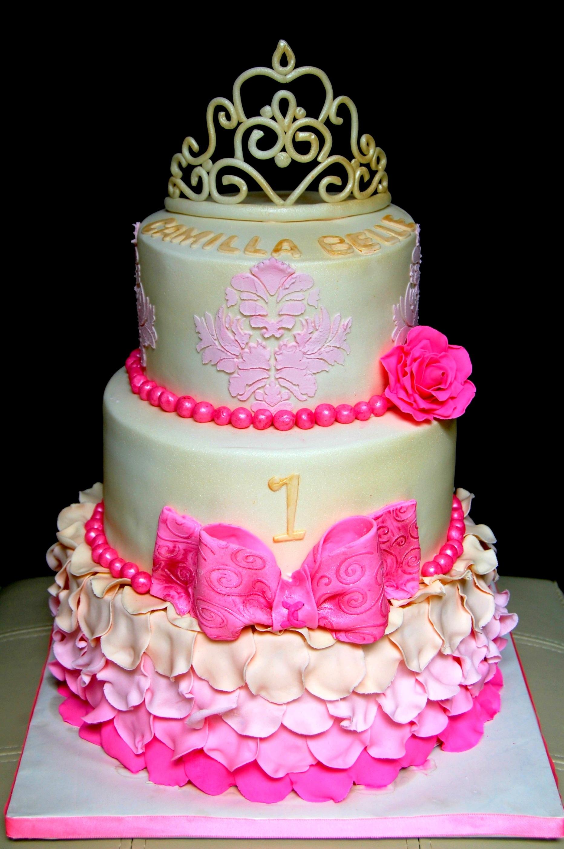 Southern Blue Celebrations Princess Cake Ideas