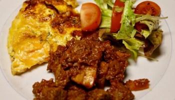 taco och potatisgratäng
