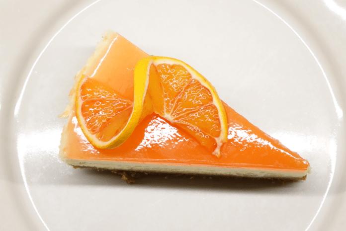 Cheesecake med blodapelsin