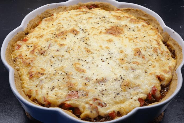 Tacopaj med tre sorters ost