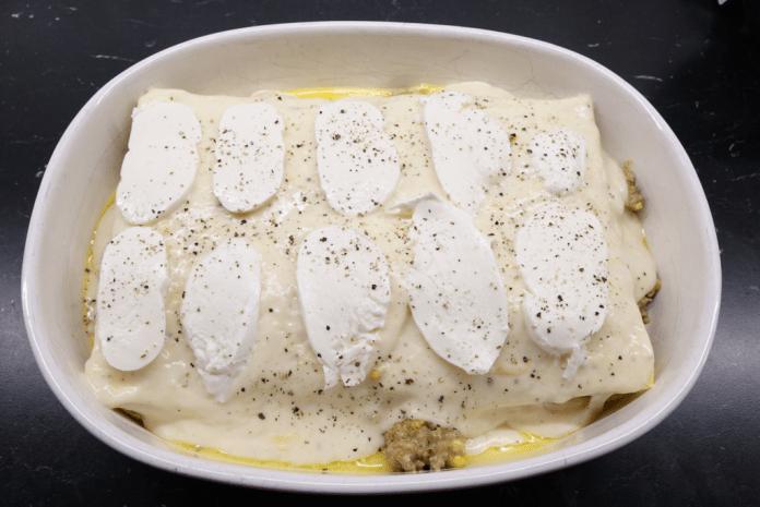Lasagne med tacoköttfärs
