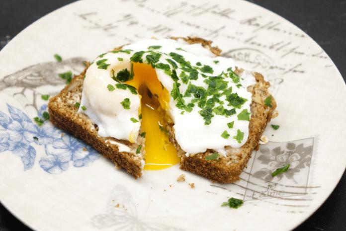 Förlorade ägg-macka
