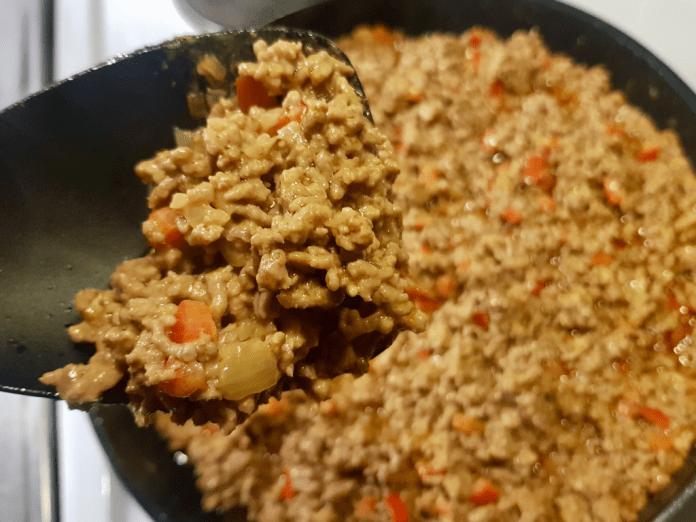 Köttfärssås a la Dryden