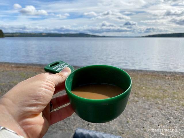 Kaffekopp i det fria