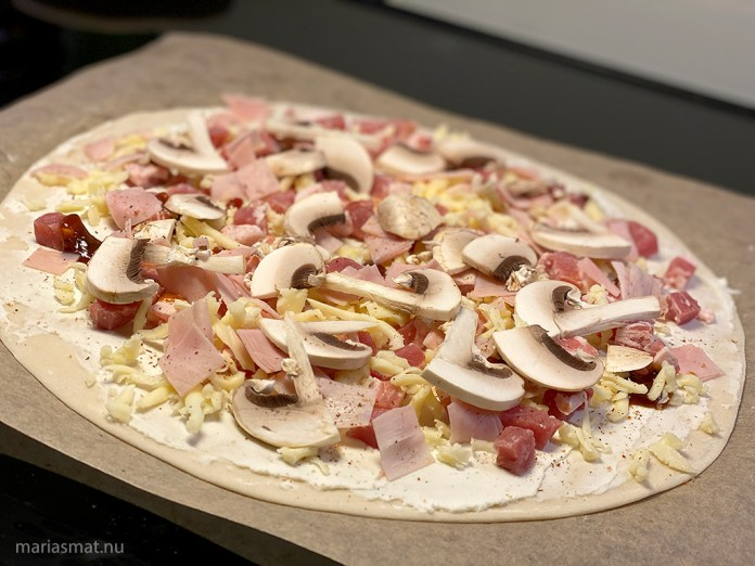 Köpa pizzeriadeg