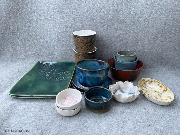 Höstens keramikkurs