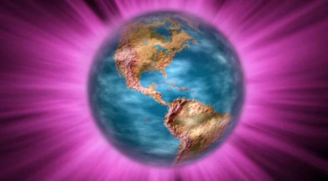 Gebed: Overspoel Moeder Aarde met Violet Licht