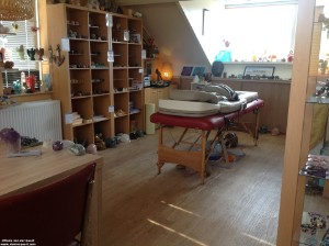 Ontspannende Kristal & Edelsteenlegging incl Massage