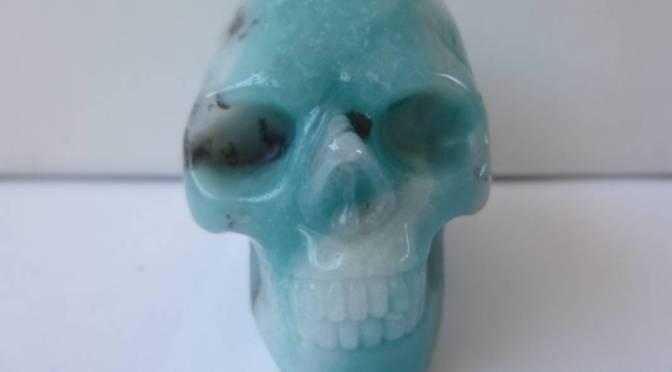 Amazoniet Skull 2 – Maakt connectie met Moedergodin Groene Tara