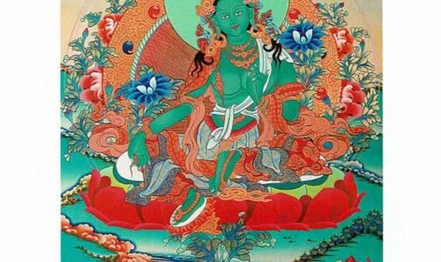 Groene Tara staat voor Liefde, Passie en Nieuwe Wereld Vrede