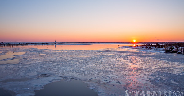 edgartown lighthouse sunrise, fine art prints martha's vineyard