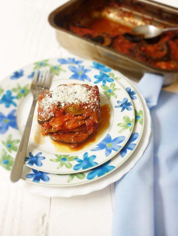 Parmigiana di melanzane: Parmesana de berenjenas y una anécdota suegril