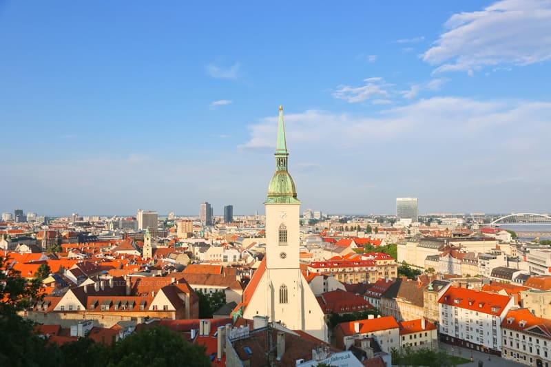 Eslovaquia, Bratislava