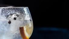 glass of alkaline water