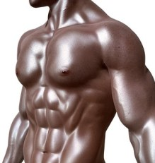 figure of a muscular body