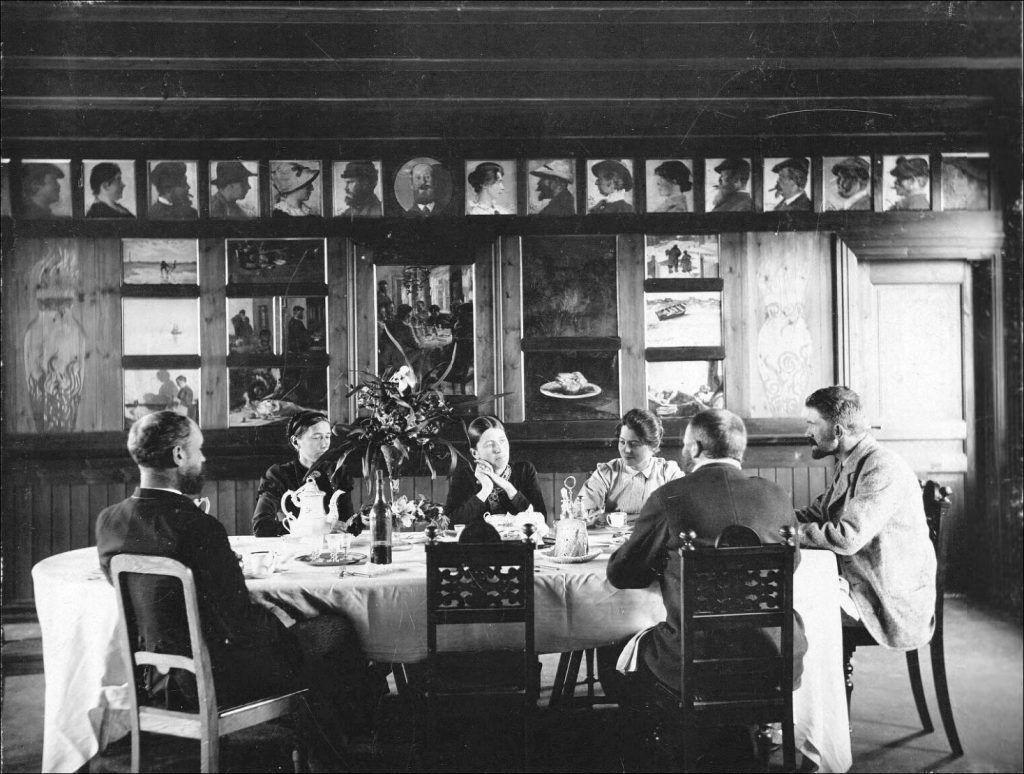Hos Brøndums på Skagen – 1894