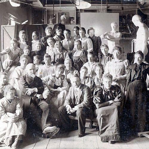 Kunstskolen for Kvinder ca 1892-98