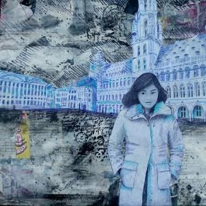 """Jour 48 """"La grande place vide"""""""