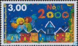 Timbre Noël 2000