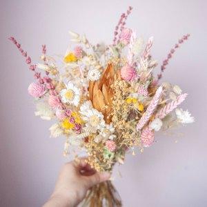Bouquet fleurs séchées Hinaïa