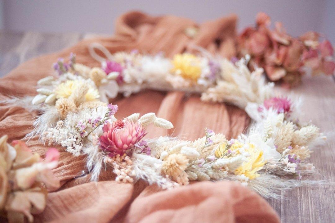 des fleurs séchées pour un cadeau de fête des mères super tendance