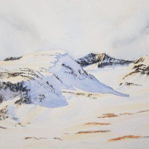 Akvarell av Marie Andersson, Storsylen