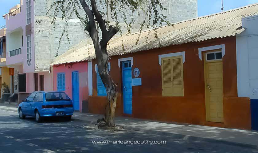 Cap-Vert, rue de Santa Maria, île de Sal © Marie-Ange Ostré