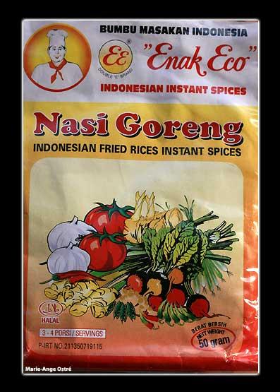 Indonésie, épices pour nasi goreng © Marie-Ange Ostré
