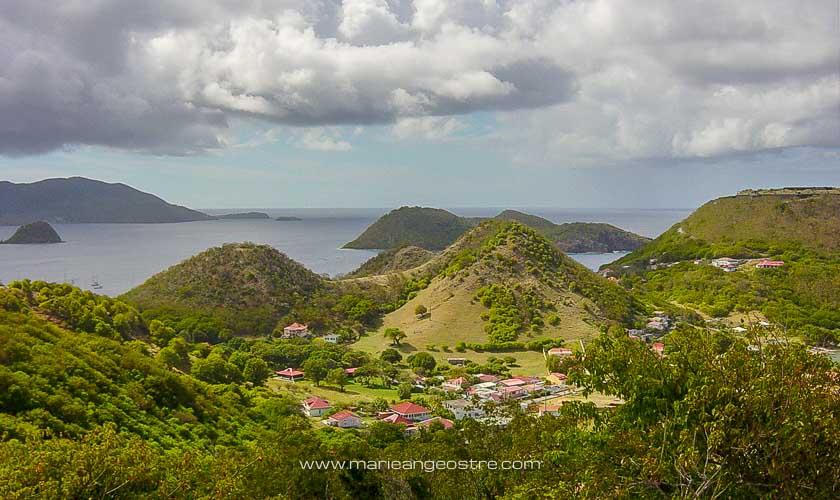 Guadeloupe, vue sur les paysages des Saintes © Marie-Ange Ostré
