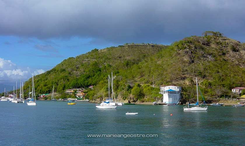 Guadeloupe, paysage aux alentours de Bouillante © Marie-Ange Ostré