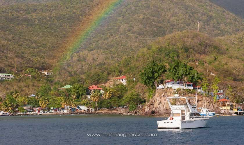 Guadeloupe, arc-en-ciel sur Basse-Terre © Marie-Ange Ostré
