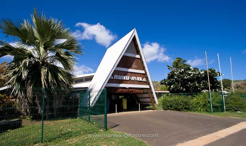 Marquises, aéroport de Nuku Hiva © Marie-Ange Ostré