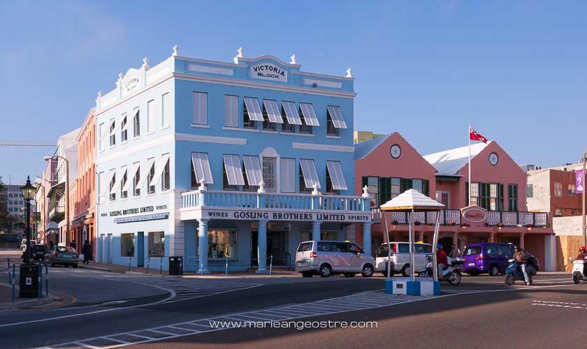 îles des Bermudes, rue de Hamilton © Marie-Ange Ostré