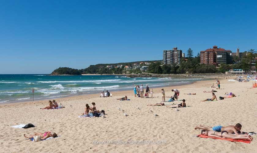 Australie, Manly Beach à Sydney (New South Wales) © Marie-Ange Ostré