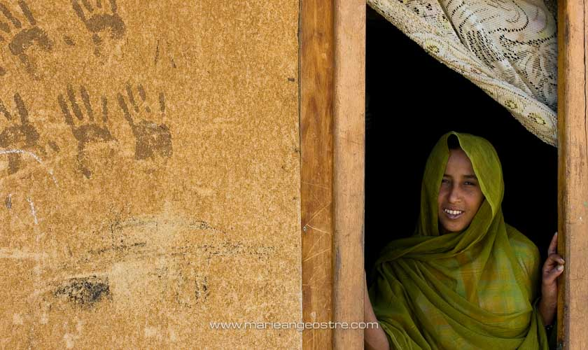 Egypte, jeune femme bédouine © Marie-Ange Ostré