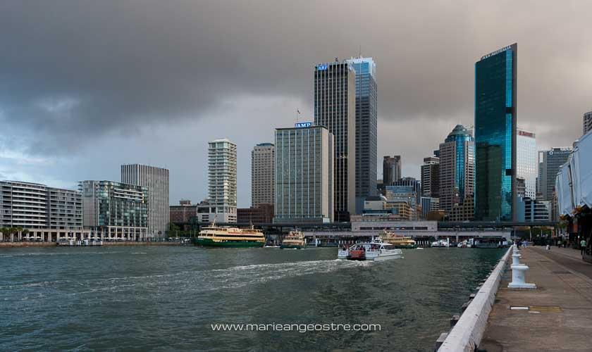 Australie, quartier Circular Quay à Sydney (New South Wales) © Marie-Ange Ostré