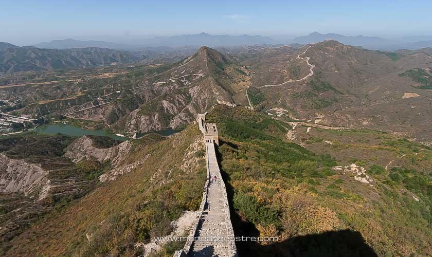 Chine, sur la Grande Muraille, Simatai © Marie-Ange Ostré