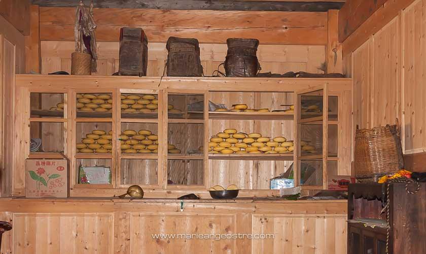 Chine, production de beurre de yak province de Shangri-La © Marie-Ange Ostré