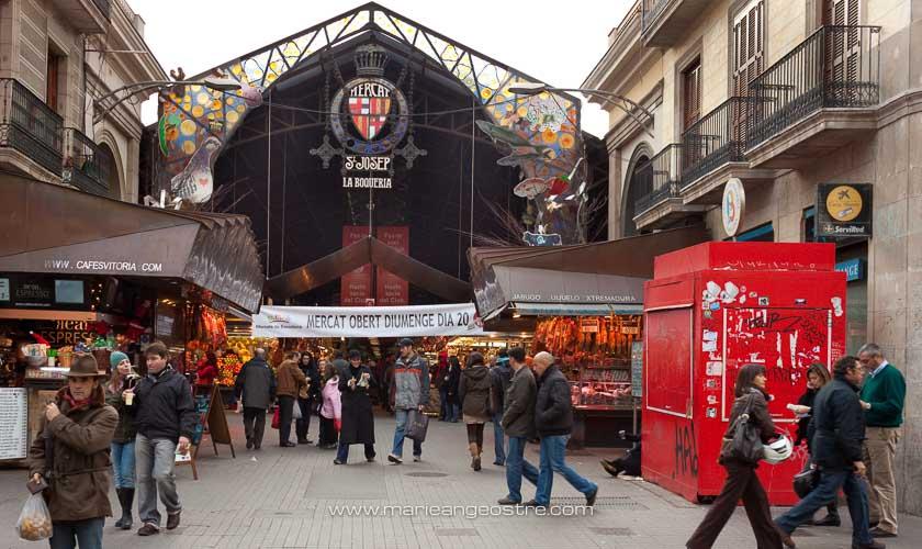 Espagne, le marché de La Boqueria à Barcelone © Marie-Ange Ostré