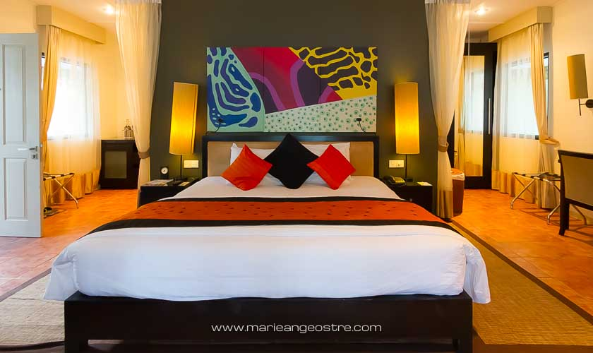 Maldives, hôtel Angsana Velavaru, beach villa © Marie-Ange Ostré