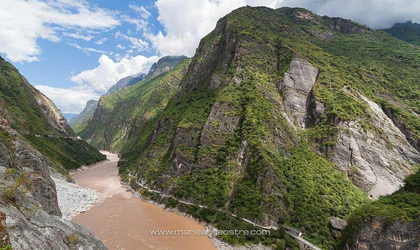 Chine, fleuve Yang Tsé, Yunnan © Marie-Ange Ostré