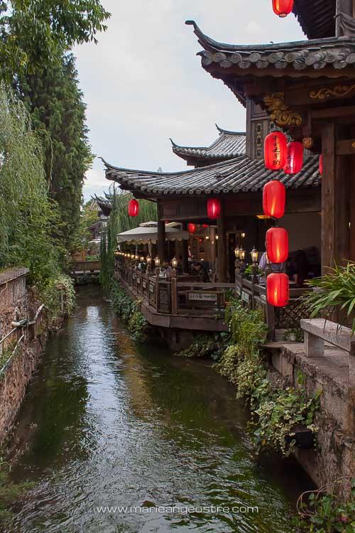 Chine, canaux de la vieille ville de Lijiang, Yunnan © Marie-Ange Ostré