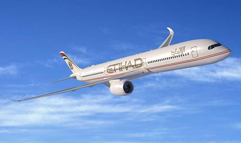 Test vol Etihad vers Abu Dhabi et Japon