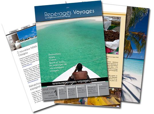 Repérages Voyages, le magazine du voyage online gratuit